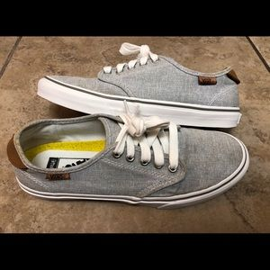 Vans Off The Wall Lace Up Canvas Women's Shoes